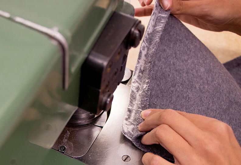 tessuto double produzione abbigliamento conto terzi