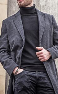 produzione cappotto uomo conto terzi